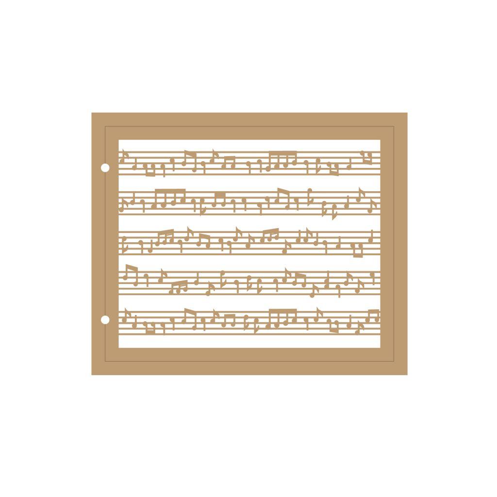 ALBUM 18,5 X 22,3 CM - MUSIQUE