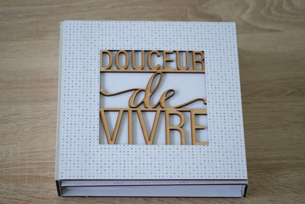 ALBUM 20*20 DOUCEUR DE VIVRE