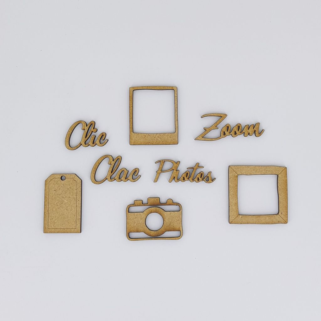 ALBUM 20 X 20 CM - 8 cases
