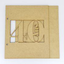 ALBUM 22,3 X 18,5 CM - 40 ANS