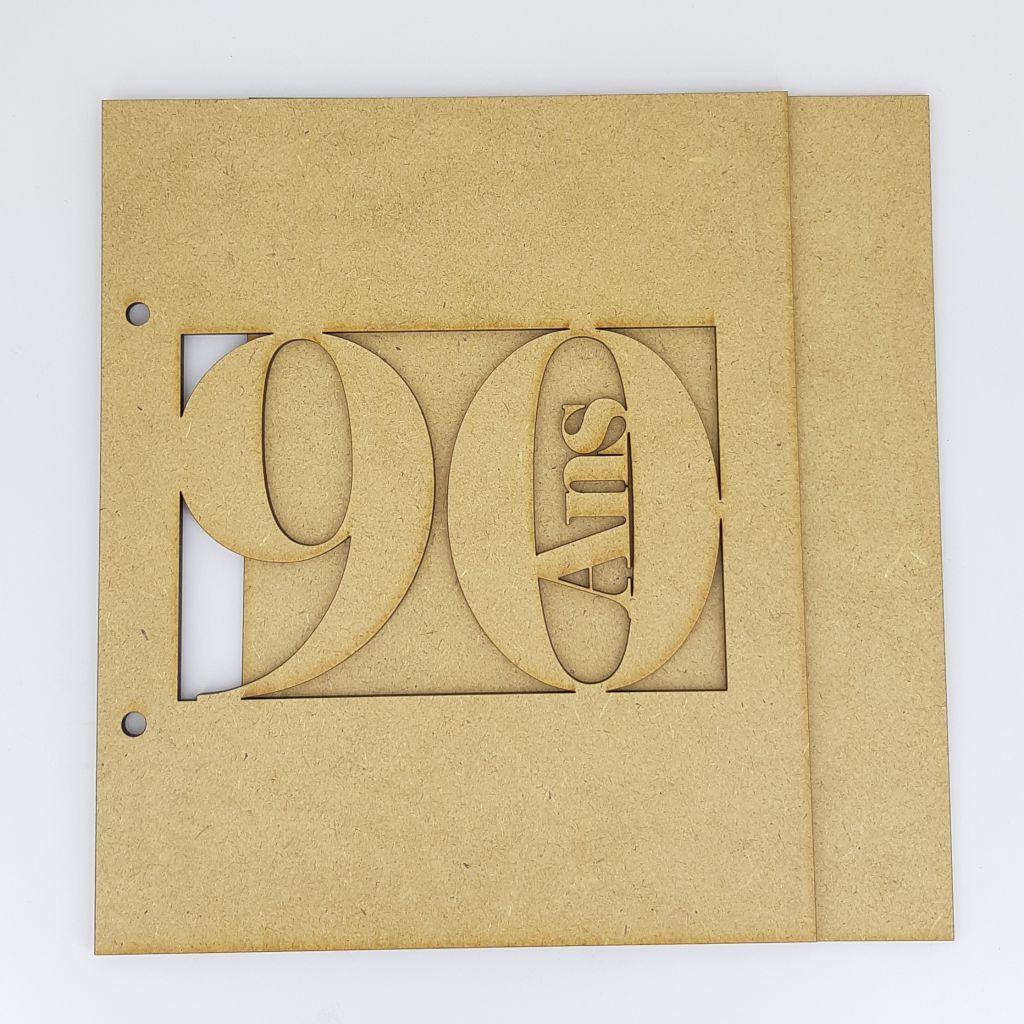 ALBUM 22,3 X 18,5 CM - 90 ANS