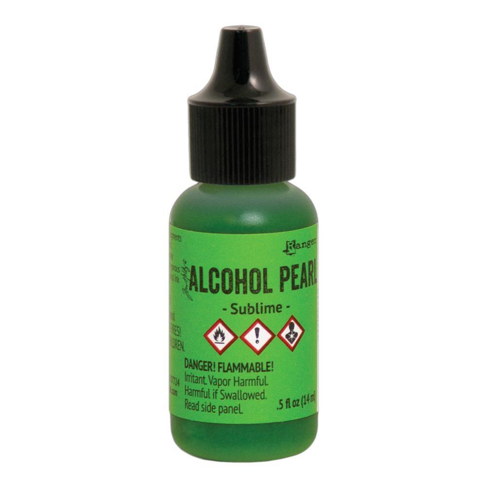 ALCOHOL PEARL SUBLIME - Encre à alcool Vert