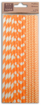 ASSORTIMENT 24 PAILLES - ORANGE