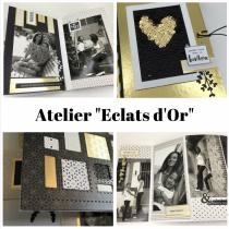"""Atelier 2019 \""""Eclats d\'Or\"""" avec Lydie"""