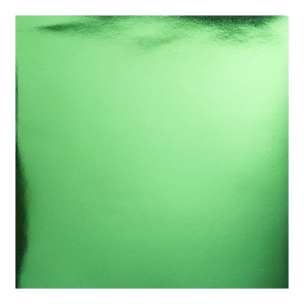 BAZZILL FOIL CARDSTOCK GREEN