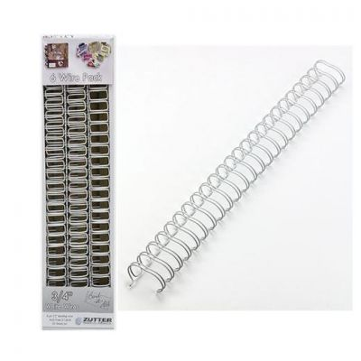 BIND IT ALL RELIURE METAL 3/4 WHITE