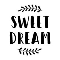 BLOC + TAMPON TRANSPARENT - Sweet Dream