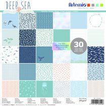 BLOC DE 30 FEUILLES - Deep Sea