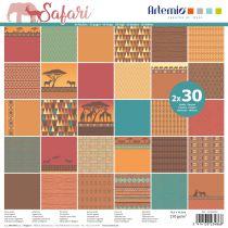 BLOC DE 60 FEUILLES - Safari