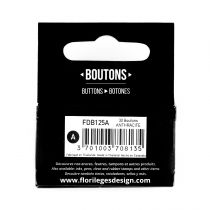 Boutons Anthracite
