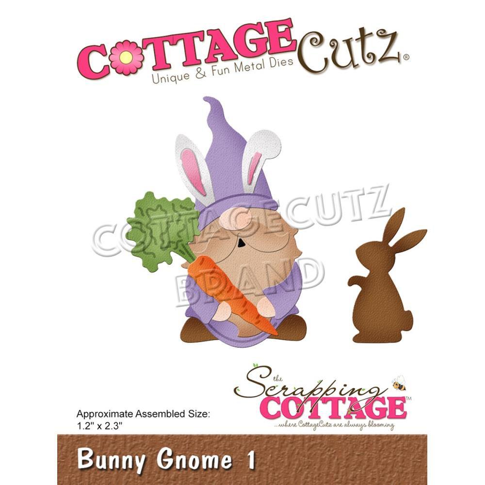 """Bunny Gnome 1 - 1.2\""""X2.3\"""""""