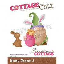 """Bunny Gnome 2 - 1.4\""""X1.9"""