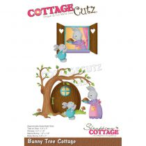 """Bunny Tree Cottage .8\"""" To 3.4\"""""""