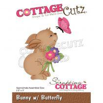 """Bunny W/Butterfly 2.5\""""X3\"""""""
