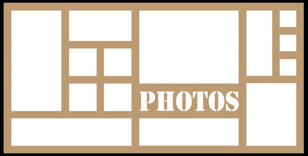 CADRE 30*60 14 CASES PHOTOS