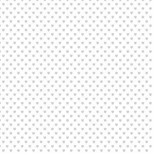 CALQUE 90G - petits coeurs blancs