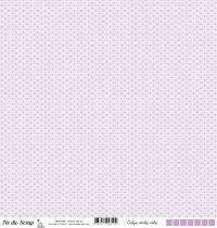 Calque étoiles - Violet