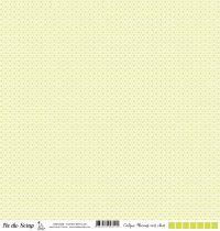 Calque flocons - Vert clair