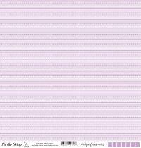 Calque frises - Violet