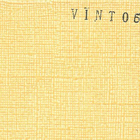 CARDSTOCK VINTAGE - Jaune Orange