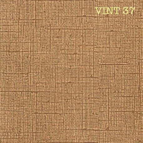 CARDSTOCK VINTAGE - Marron Noisette