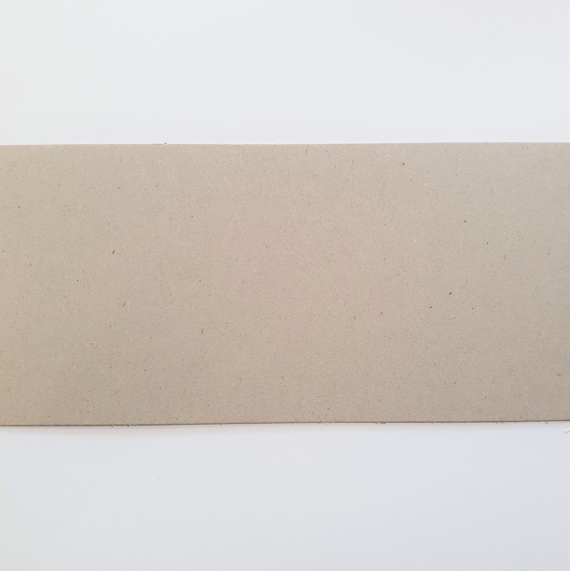 CHIPBOARD - CARTON GRIS - 15 X 30.5 CM