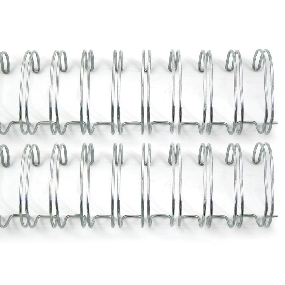 """Cinch Wires 1\"""" 2/Pkg Silver"""