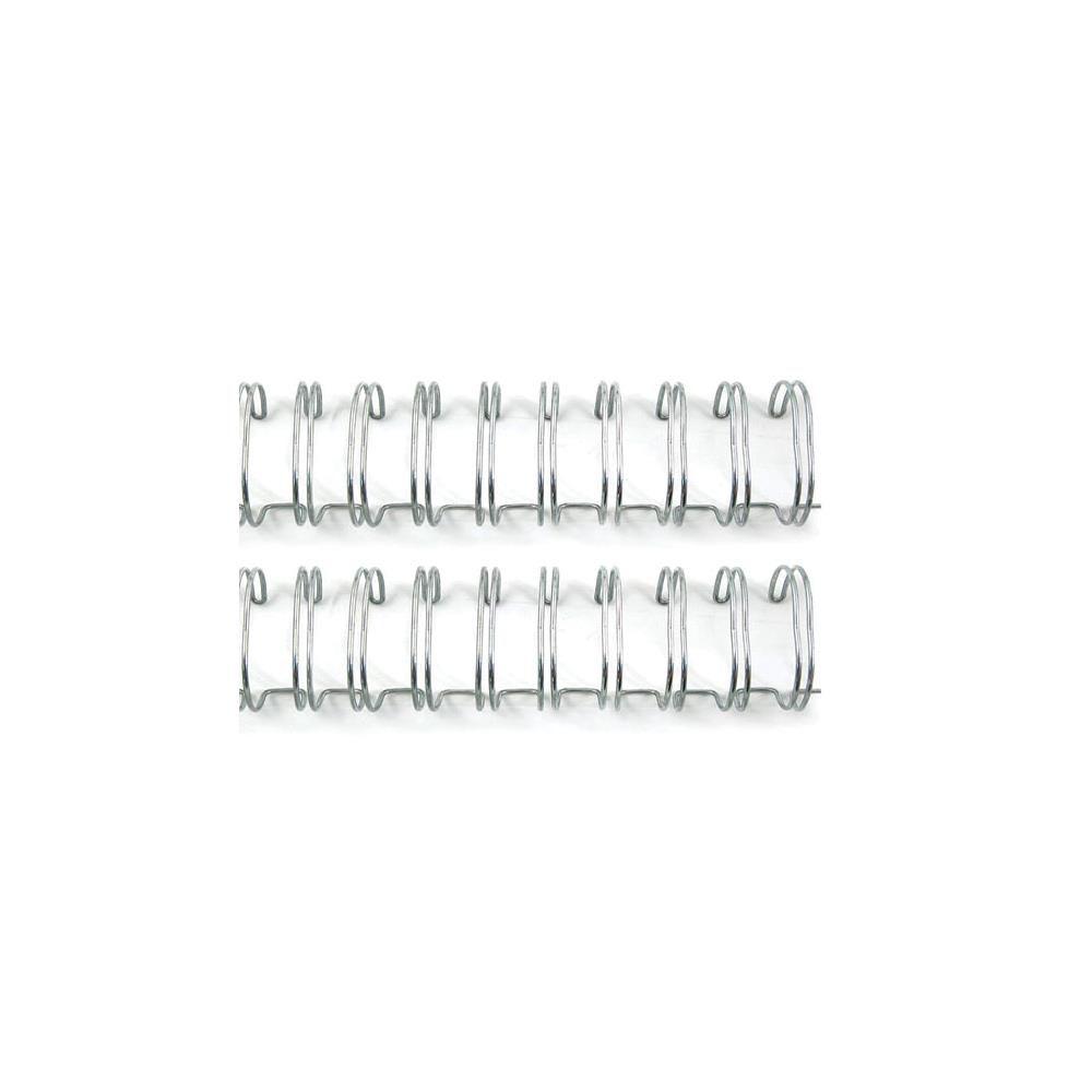 """Cinch Wires .625\"""" 2/Pkg Silver"""
