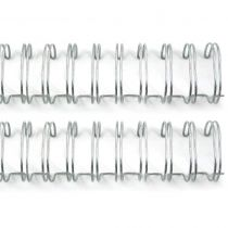 "Cinch Wires .75"" 2/Pkg Silver"
