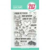 CLEAR STAMP Frenchie