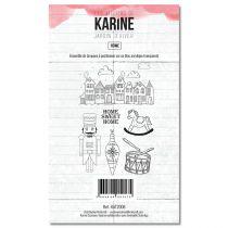 Clear Stamp Jardin d\'Hiver Home - Les Ateliers de Karine