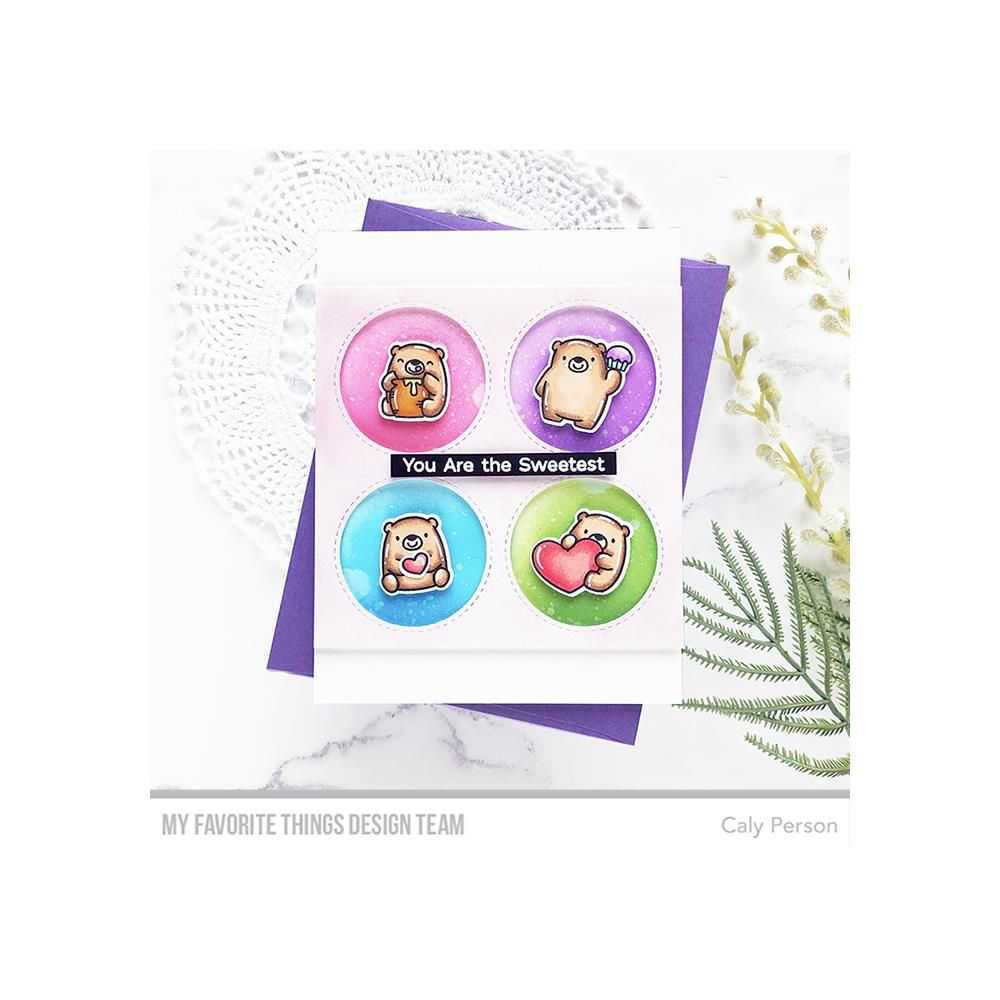 CLEAR STAMPS - BITTY BEARS