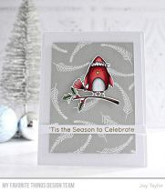 CLEAR STAMPS - Christmas Cardinals