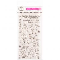 CLEAR STAMPS - Joyous Holidays