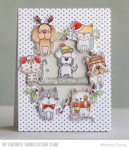 CLEAR STAMPS - Peace, Love & Paws