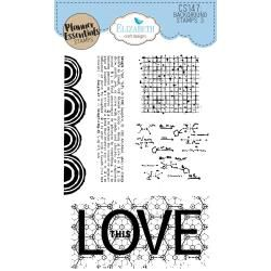 Clear Stamps Background 3