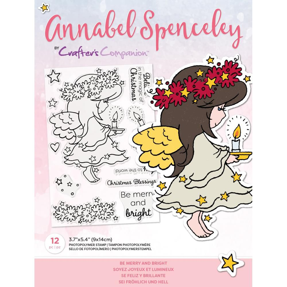 Clear Stamps By Annabel Spenceley - Be Merry And Bright