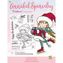 Clear Stamps By Annabel Spenceley - Enjoy The Festivities
