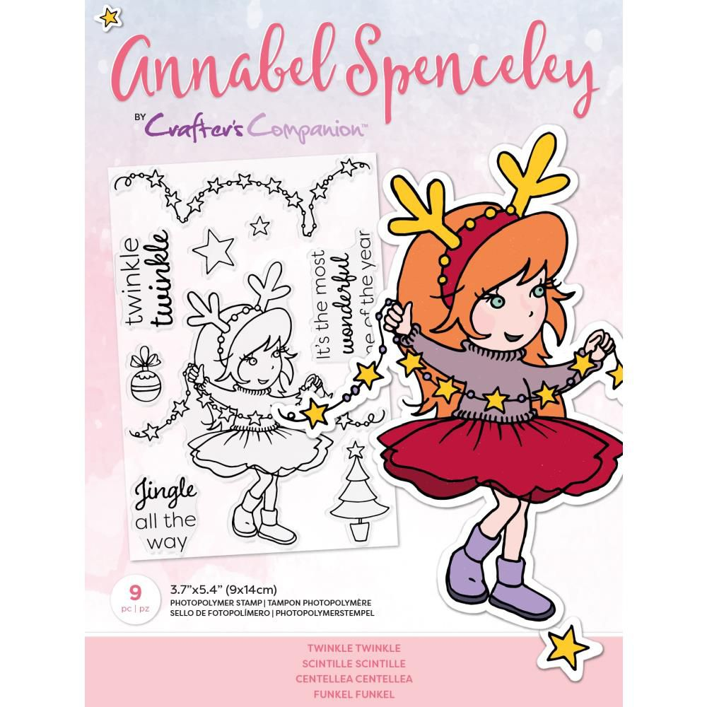 Clear Stamps By Annabel Spenceley - Twinkle Twinkle