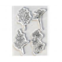 Clear Stamps Flowy Florals