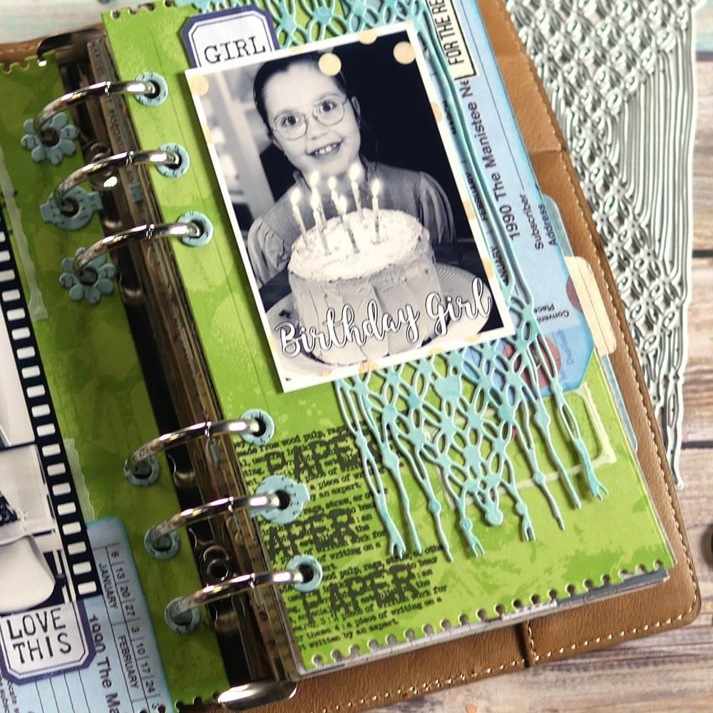 Clear Stamps Paper Love