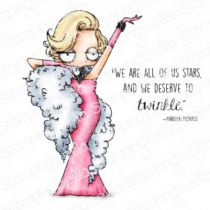 Cling Stamps Oddball Marilyn