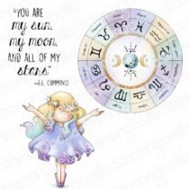 Cling Stamps Tiny Townie Astrology Chart