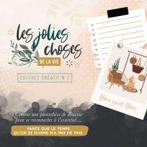 COFFRET CREATIF - Les Jolies Choses de la Vie