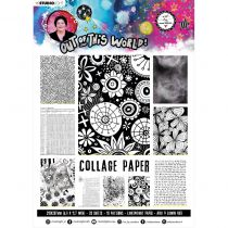Collage Paper A4 Out of this World
