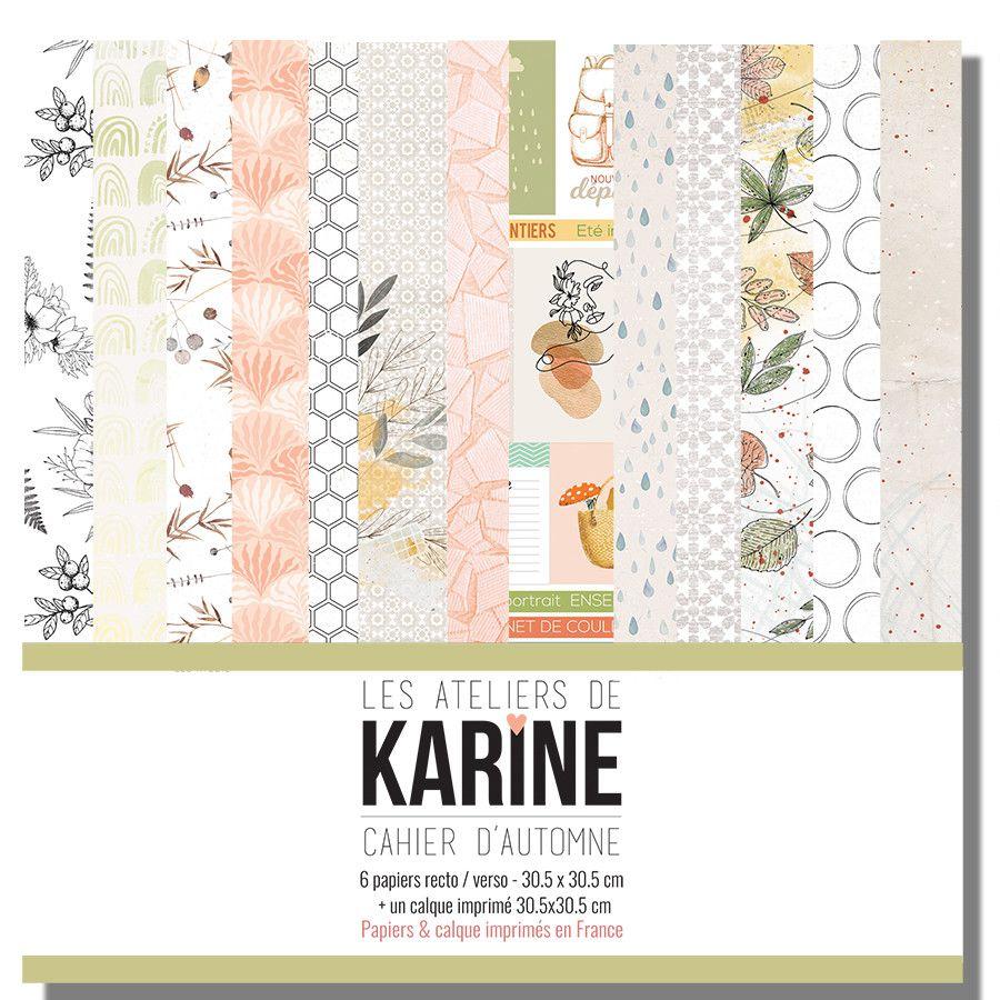 Collection Cahier d\'Automne - Les Ateliers de karine