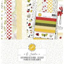 COLLECTION DE PAPIERS - O Jardin