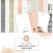 COLLECTION DE PAPIERS - Plume
