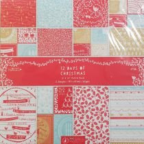 COLLECTION DE PAPIERS 30.5 X 30.5 CM - 12 Days of Christmas