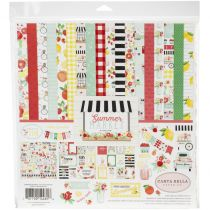 COLLECTION DE PAPIERS 30.5 X 30.5 CM - Summer Market